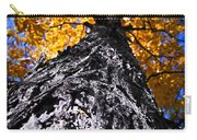 Big Autumn Tree In Fall Park Carry-all Pouch