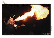 Big Axe Of Fire Carry-all Pouch