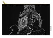 Big Ben And Boudica Statue Carry-all Pouch