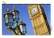 Big Ben And Palace Of Westminster Carry-all Pouch by Elena Elisseeva