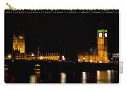 Big Ben And The Houses Of Parliament  Carry-all Pouch