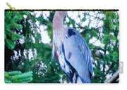 Big Bird - Great Blue Heron Carry-all Pouch