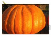 Big Orange Pumpkin Carry-all Pouch