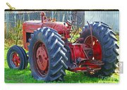 Big Red Rubber Tire Tractor Carry-all Pouch
