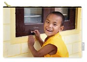 Big Smile At The Window Carry-all Pouch