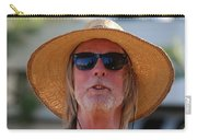 Big Straw Hat Carry-all Pouch
