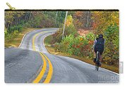 Biking In Autumn Carry-all Pouch