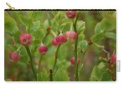 Bilberry Flowers Carry-all Pouch