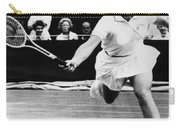 Billie Jean King (1943- ) Carry-all Pouch by Granger