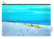 Biloxi Beach Carry-all Pouch by Scott Crump