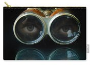 Binoculars With Eyes Looking At You Carry-all Pouch