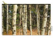 Birch Tree Abstract Carry-all Pouch