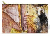 Birch Tree Bark No.0885 Carry-all Pouch