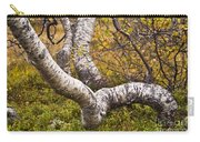 Birch Trees In Autumn Foliage Carry-all Pouch
