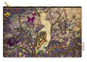 Bird And Butterflies Carry-all Pouch