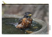 Bird Bath Fun Time Carry-all Pouch