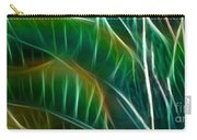 Bird Of Paradise Fractal Panel 3 Carry-all Pouch