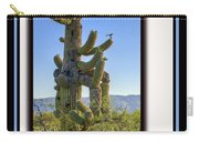 Bird On Cactus Carry-all Pouch