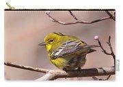 Bird - Pine Warbler - Detail Carry-all Pouch
