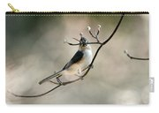 Bird - Tufted Titmouse - Wind Rider Carry-all Pouch