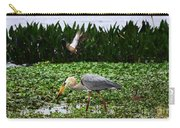 Birding Action At Circle B Bar Reserve Carry-all Pouch