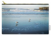 Birds At Dusk Vanilla Pop Carry-all Pouch