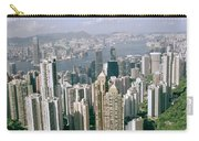 Birds Eye View Over Hong Kong Carry-all Pouch
