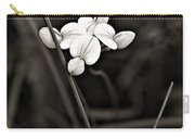 Bird's-foot Trefoil Monochrome Carry-all Pouch