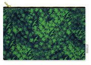 Birds In Green Carry-all Pouch