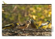 Birds Of Yellow Carry-all Pouch