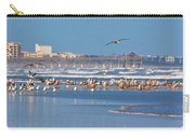 Birds Only Beach Carry-all Pouch