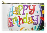 Birthday Balloons Carry-all Pouch by Tom Gowanlock