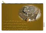 Birthday Party Invitation - Common Toad - Child Carry-all Pouch