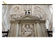 Bishop Sculpture In Cordoba Cathedral Carry-all Pouch