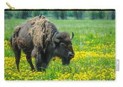 Bison And Friend Carry-all Pouch