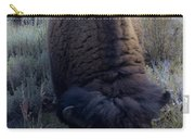 Bison At Ease Carry-all Pouch