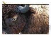 Bison Bison Up Close Carry-all Pouch