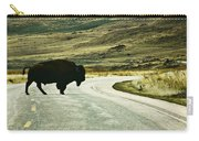 Bison Crossing Highway Carry-all Pouch