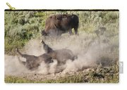 Bison Dust Bath Carry-all Pouch