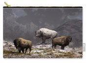 Bison King Carry-all Pouch by Daniel Eskridge