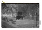 Black And White Buggy Carry-all Pouch