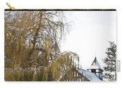 Black And White Church  Melverley Carry-all Pouch