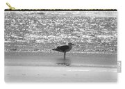 Black And White Gull Carry-all Pouch