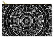 Black And White Mandala No. 3 Carry-all Pouch