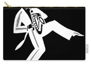 Black And White Saxophone Carry-all Pouch