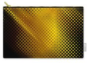 Black And Yellow Abstract II Carry-all Pouch