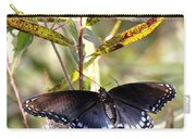 Black Beauty In The Bush Carry-all Pouch