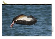 Black-belled Whistling-duck In Flight Carry-all Pouch