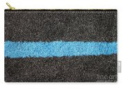 Black Blue Lawn Carry-all Pouch