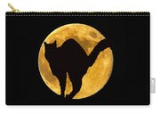 Black Cat Moon Carry-all Pouch